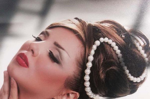 مدل شینیون بسته,مدل شینیون عروس