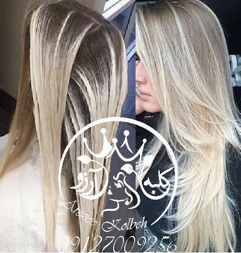 تخفیف رنگ مو