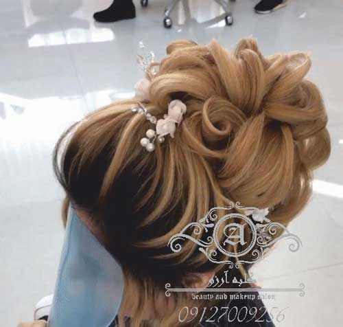 آموزش شینیون موی زنانه