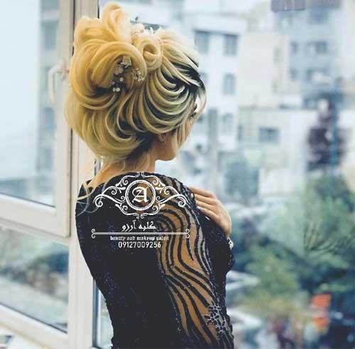 بهترین مدل های شینیون مو