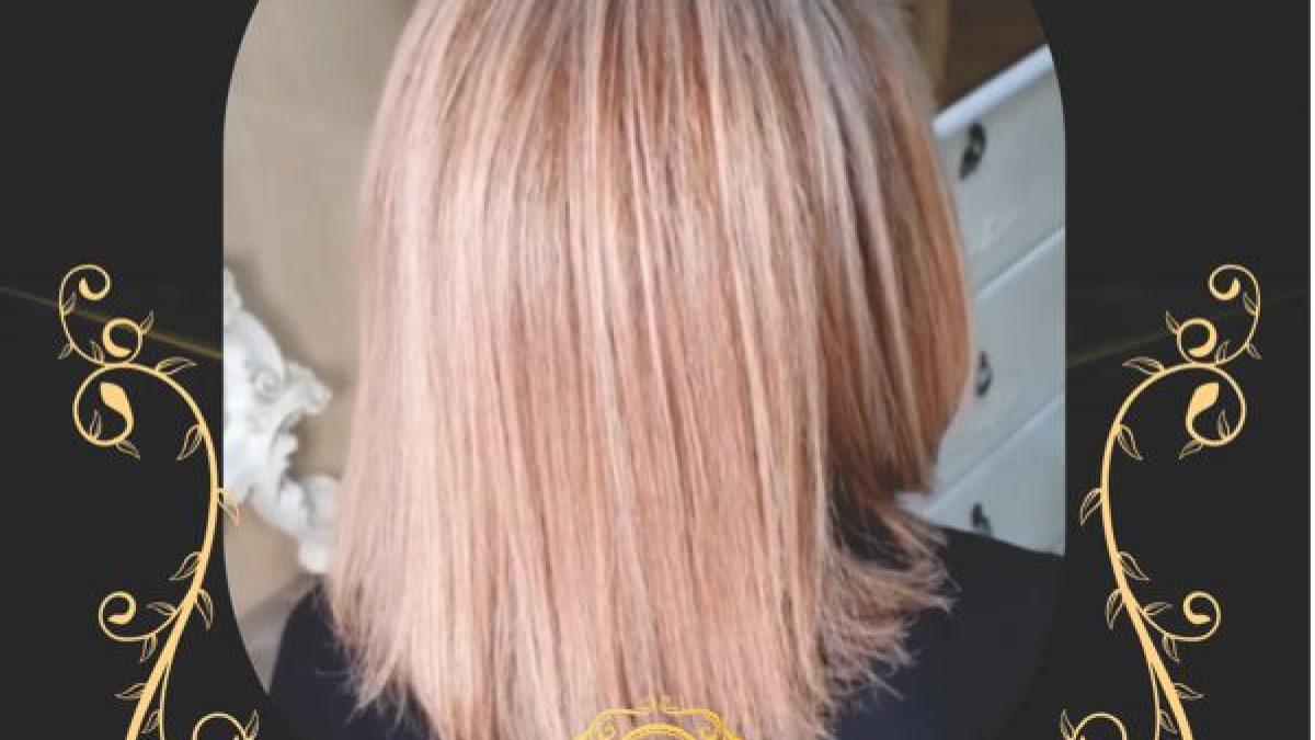 اموزش رنگ مو با مدرک